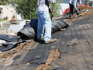 hire a local roofing company to replace your roof